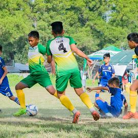 Go, go, GO!!! by Empty Deebee - Sports & Fitness Soccer/Association football ( davao city, football, soccer )