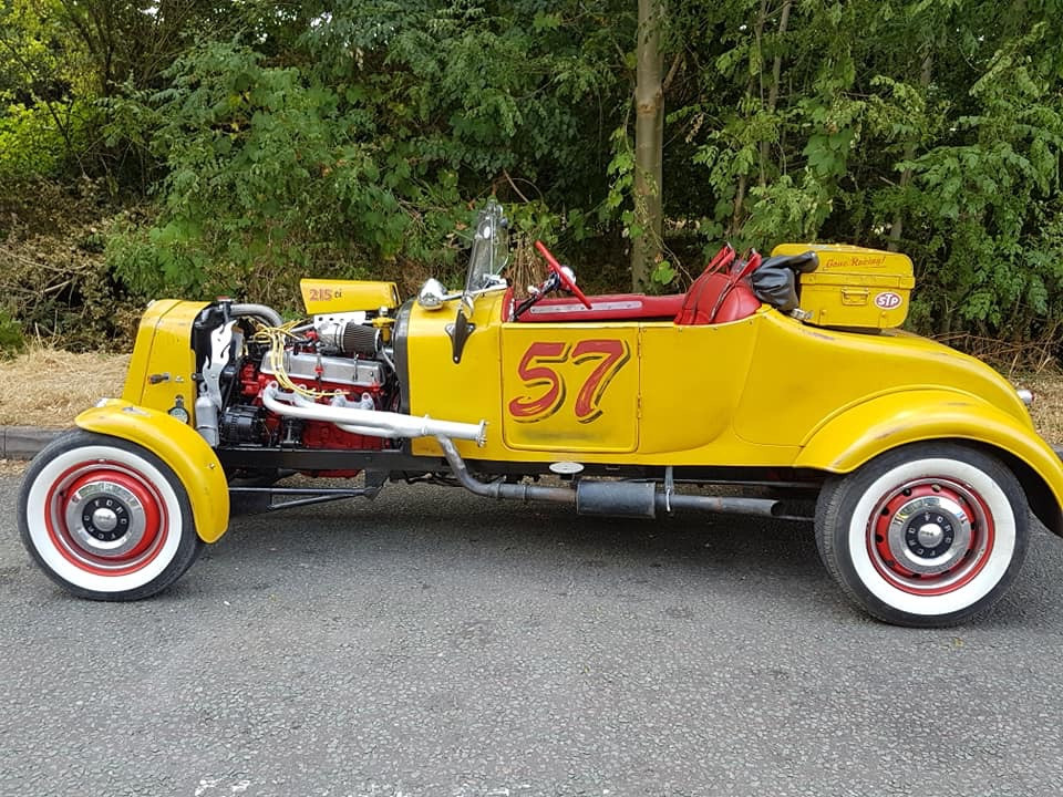 Ford Roadster Hire Mountsorrel, Loughborough
