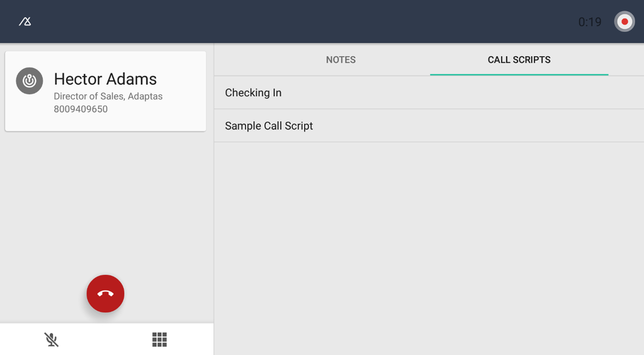 Base CRM- screenshot