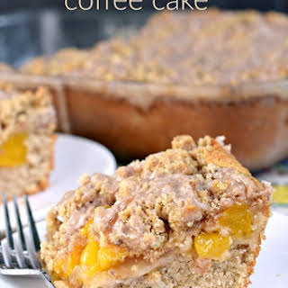 Peach Streusel Coffee Cake.