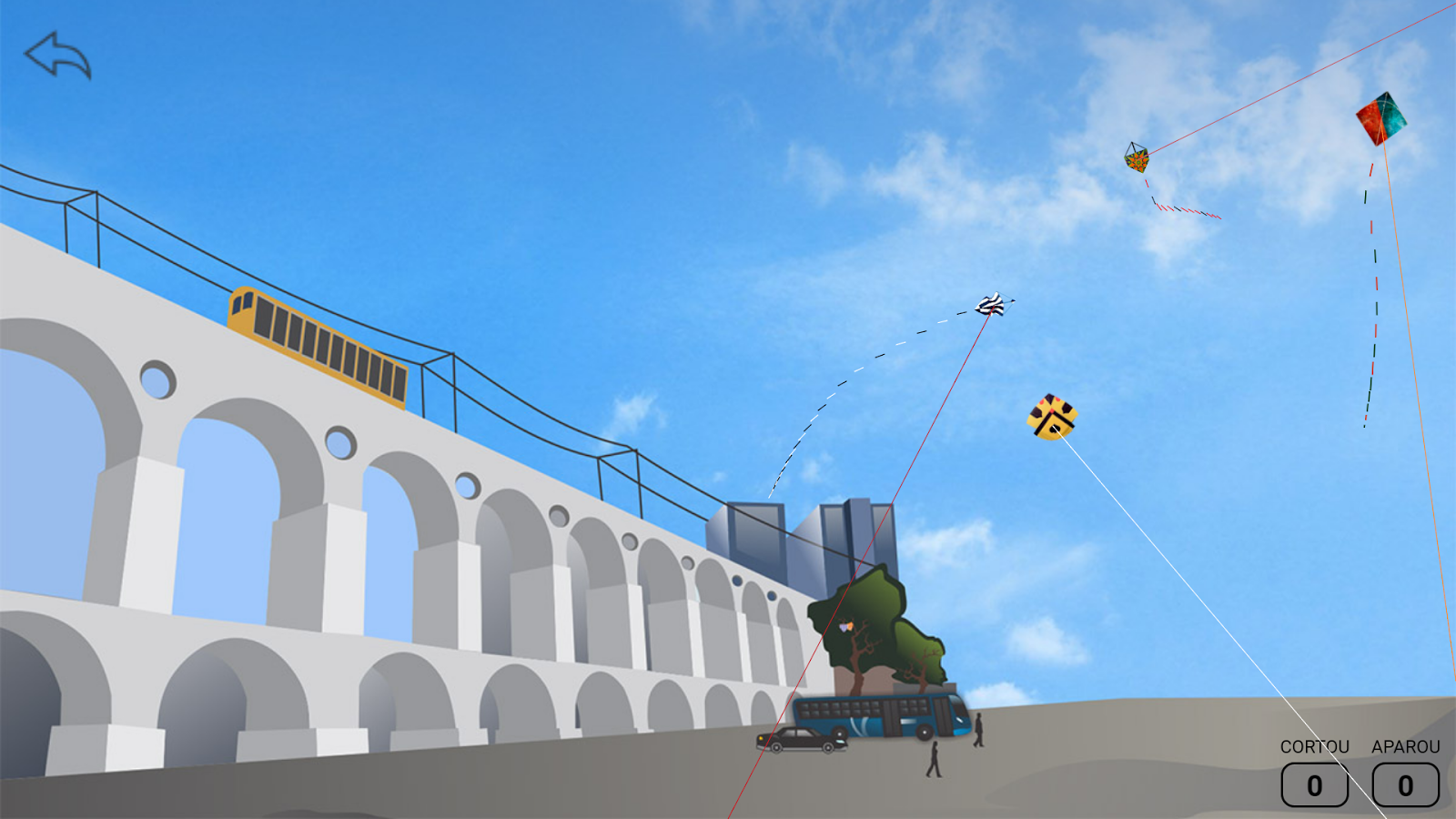 Screenshots of Kite Fighting for iPhone