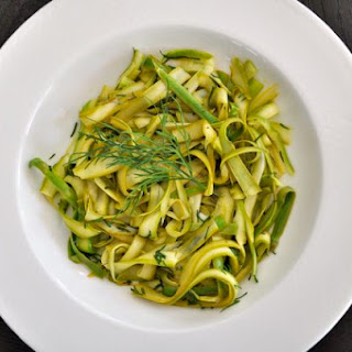 Asparagus Noodles with Lemon and Dill