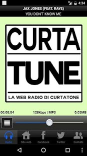 CurtaTune Web Radio- miniatura screenshot