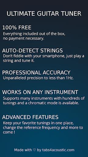 Ultimate Guitar Tuner: Free ukulele & guitar tuner 2.12.2 screenshots 7