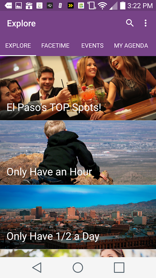 The Official Visit El Paso App- screenshot