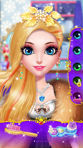 ud83dudc60ud83dudc84Princess Beauty Salon - Birthday Party Makeup apkpoly screenshots 12