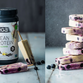 Blueberry Post-Workout Ice Pops Recipe