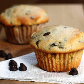 Ricotta Cheese Chocolate Chip Muffins.