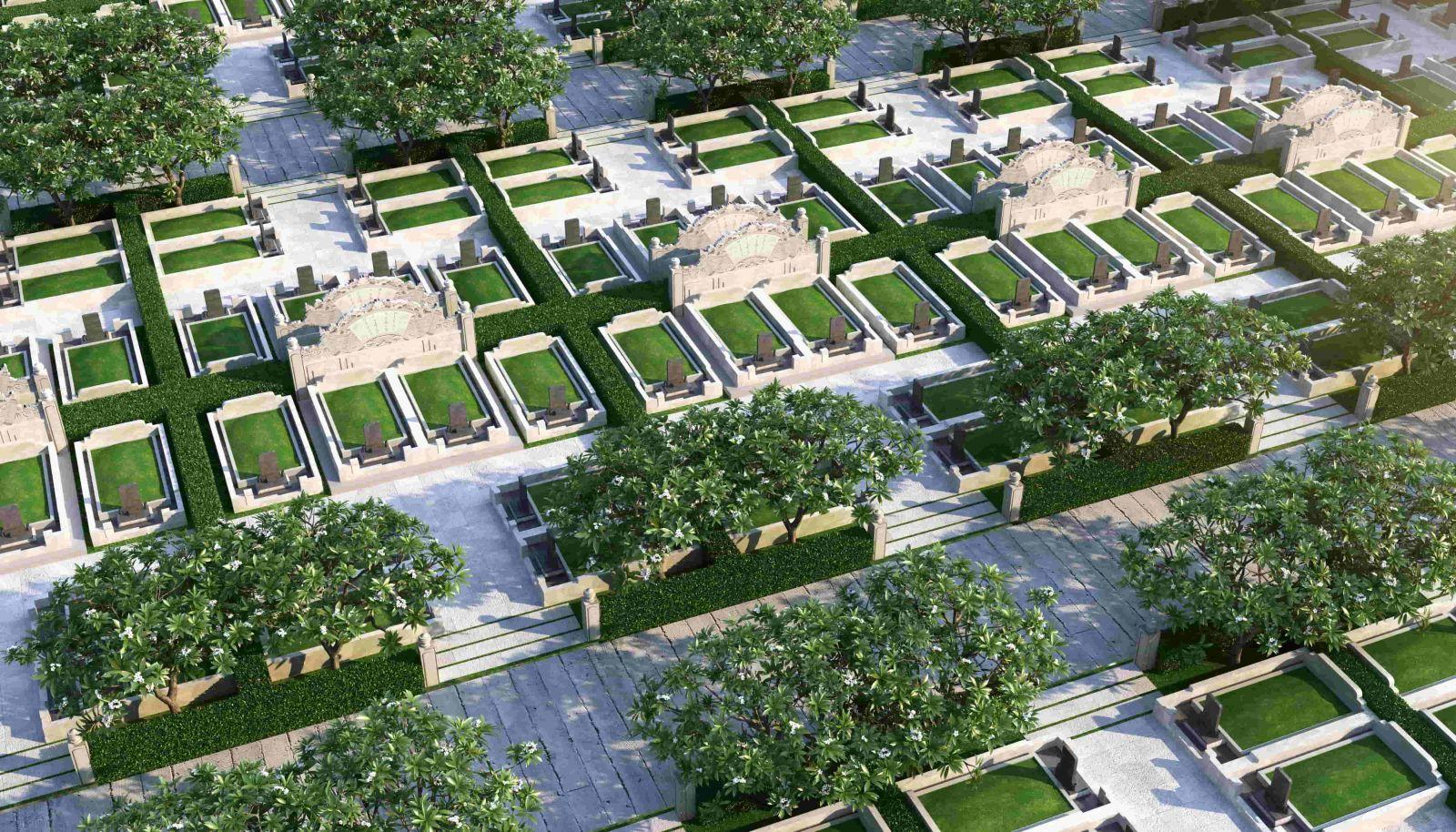 Liên hệ ngay để có đất nghĩa trang đẹp tại công viên Vĩnh Hằng