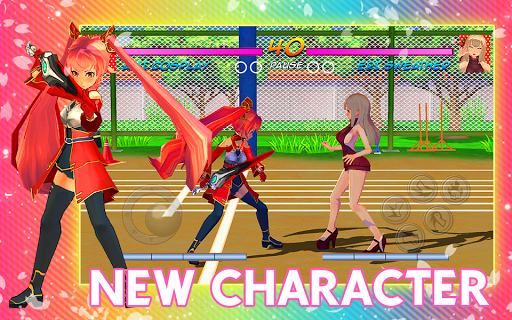 High School Girl Real Battle Simulator Fight Life painmod.com screenshots 2