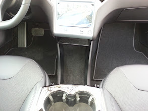 Photo: View of the only storage area besides the glovebox (apparently the kangaroo pouches are only on the front of the leather seats).  I plan on getting the CCI when it is available if the price isn't too outrageous.
