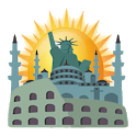 landmarks of the world icon