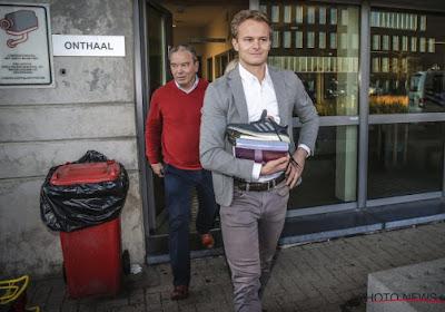 Bart Vertenten au tribunal le 29 octobre face à l'Union Belge