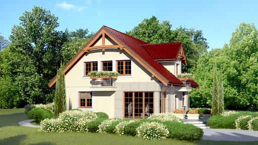 projekt Dom przy Wiosennej 5