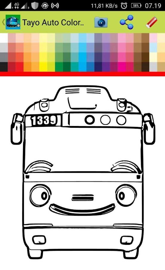 Mewarnai Tayo Little Bus : mewarnai, little, Little, Videos, 797.00, Latest, Version, Download, Color