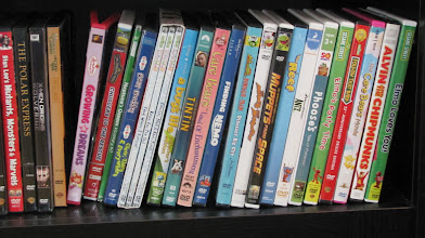 Photo: Do I resort to the growing number of DVDs in our collection? Oh, how mindless most of them are. There's got to be something more interactive and educational, right?
