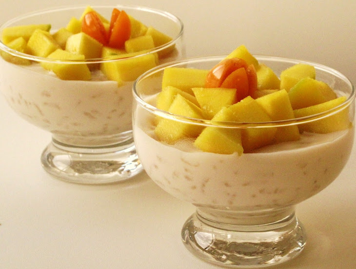 Coconut Rice Pudding with Mango Recipe