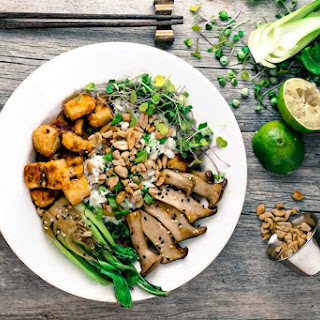 Oyster Mushrooms Tofu Recipes