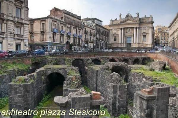 anfiteatro, paizza Stesicoro, Catania