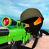 Stickman Battle : Online Shooter 3D