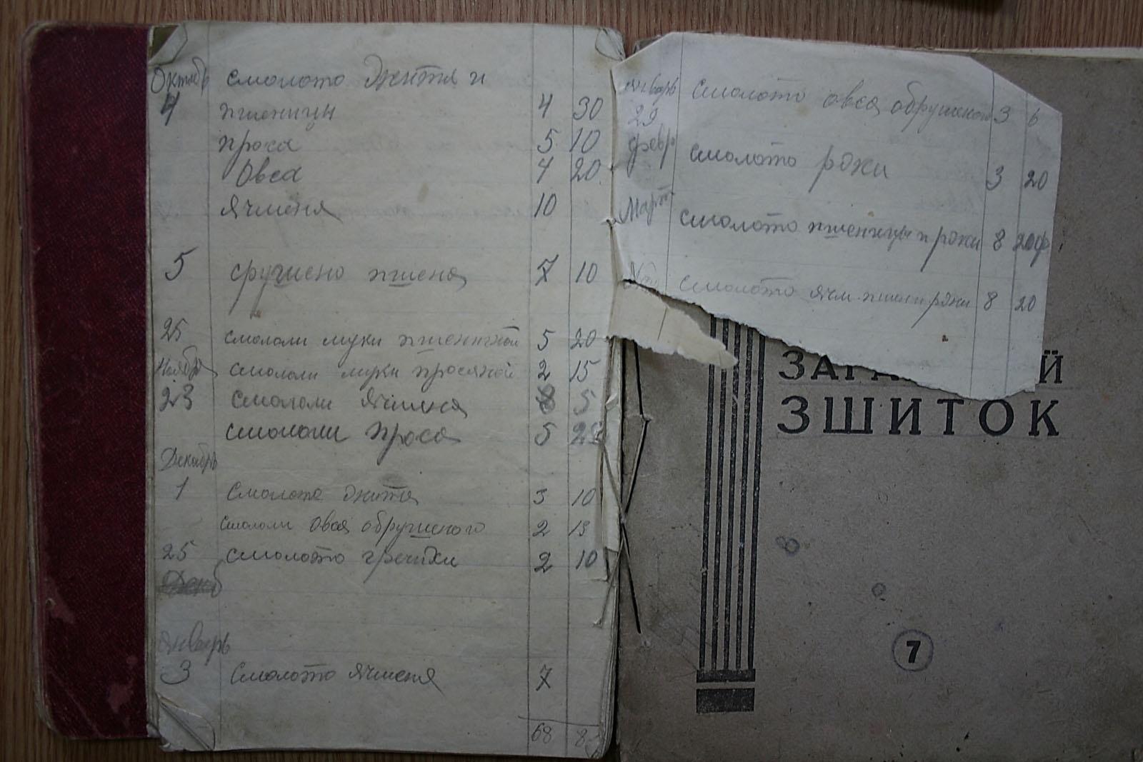Вещдок: Страницы из тетради, в которую Белоус записывал свои наблюдения