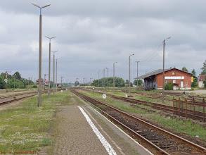 Photo: Infrastruktura stacyjna (część wschodnia) {Czersk; 2013-07-19}