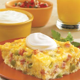 Hashbrown Breakfast Bake.