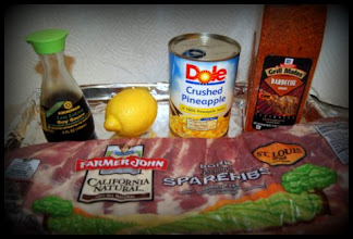 Photo: My ingredients are all ready to go, let's do this! Time to make my summer grilling recipe.