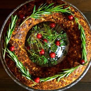 Chestnut and Cashew Nut Roast – Vegan Christmas Roast.
