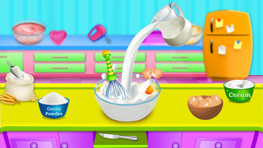 Cooking Red Velvet Cake in Kitchen: World Recipes  screenshots 9
