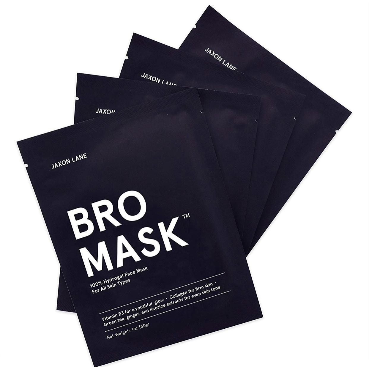 Jaxon Lane Bro Mask - a self-care gift for the holidays