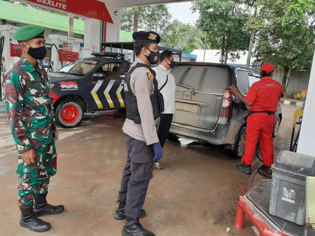 Tegakkan Protokol Kesehatan, Tiga Pilar Pangkalan Banteng Terus Laksanakan Operasi Yustisi