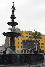 Photo: Plaza de Armas fountain