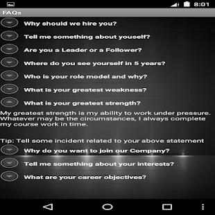 Campus Recruitment Tips screenshot