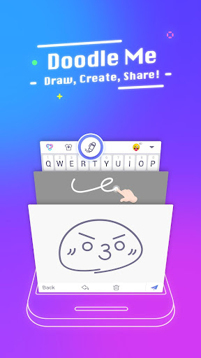 Typany Keyboard u2013 Themes&GIF, Emoji Maker, Doodle 3.6.0 screenshots 2