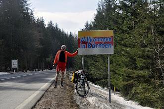 Photo: Do Karyntii wjeżdżam przez przełęcz Packsattel (1196m)
