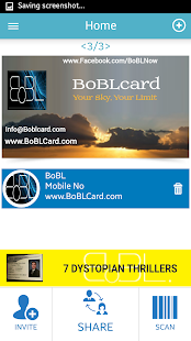 BoBL – Digital Business Cards- screenshot thumbnail