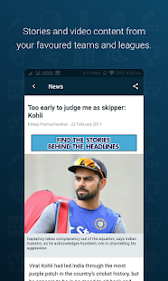Wisden India Cricket- screenshot thumbnail
