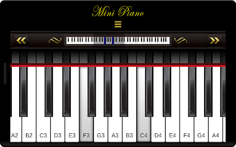 Mini Piano ® screenshot 1