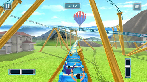 Reckless Roller Coaster Sim: Rollercoaster Games 1.0.6 screenshots 6