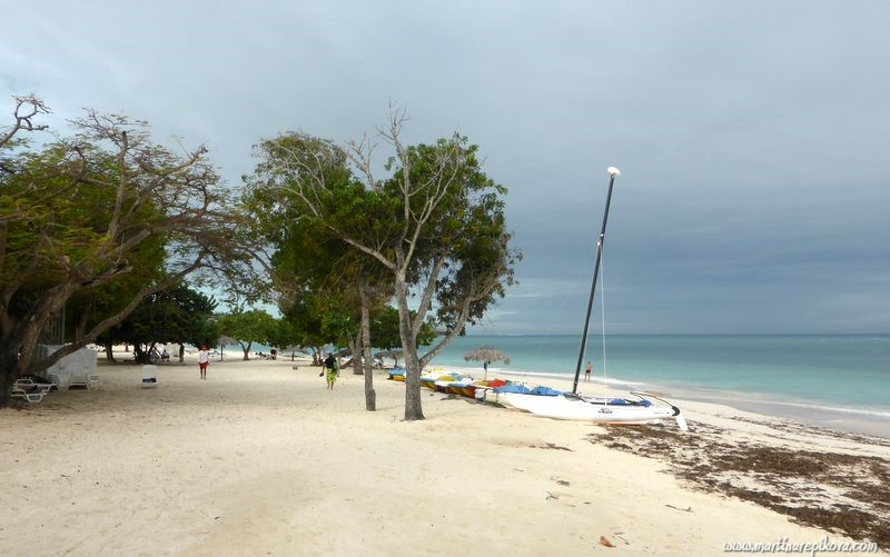 Beach at Guardalavaca, Cuba