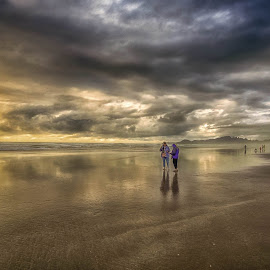 Friendship by Julie Smith - Landscapes Beaches