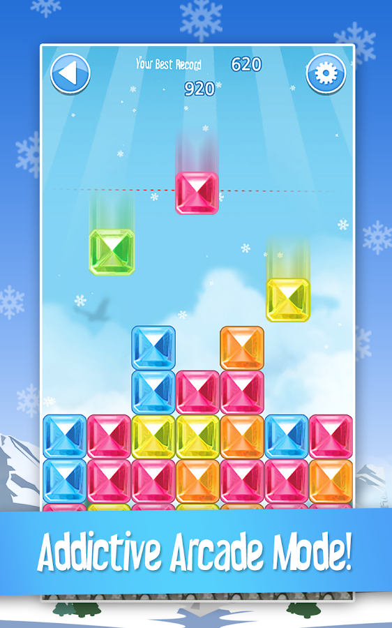 Break The Ice: Snow World - screenshot