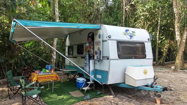 Padang Surf Camping em Ubatuba