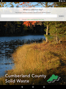 Cumberland County Solid Waste- screenshot thumbnail