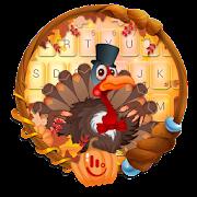 Thanksgiving Turkey Keyboard Theme