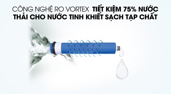 Công nghệ Ro Vortex giảm nước thải