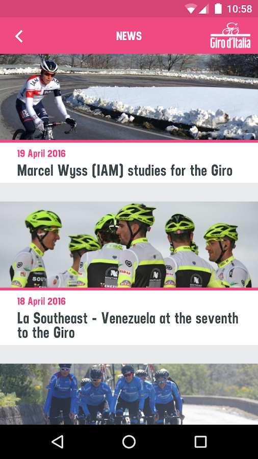 Giro d'Italia- screenshot