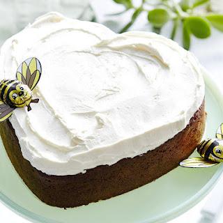 Honeybee Heart Cake