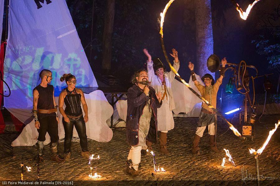 Castelo de Lamego acolhe noite de fogo e luz na Feira Medieval